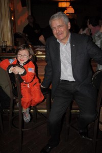 Don't let the astronaut puns and cute photo-ops fool you - Marc Garneau means business.