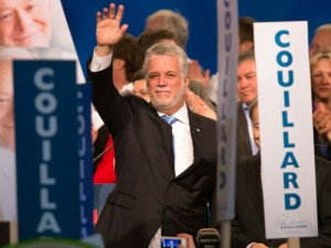 Couillard will try to make history by becoming Quebec's first bearded Premier in over 100 years.