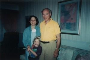 Deborah Coyne, her daughter, and Justin Trudeau's dad.