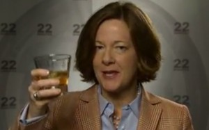 Alison Redford, after seeing her latest poll numbers.