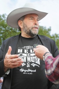 Mulcair stampede