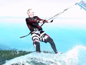 Even at 79, he still looks better than Stockwell Day in a wetsuit
