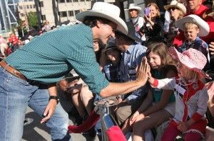 In the gold old days, Calgary children were raised that a Trudeau was to be kicked in the shins, not high fived. Times have changed.