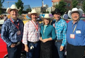 Alberta PC caucus could share a car on the parade